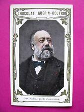 Chromo CHOCOLAT Guérin Boutron Nadaud ,Poéte Chansonnier