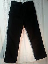 Polo Jeans Co Ralph Lauren Black Pants Size 18 Boys inseam 29 Length 39