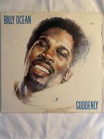 """BILLY OCEAN-Suddenly - 12"""" Vinyl Record LP - EX"""