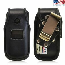 Turtleback Premium Leather Fitted Case With Rotating Metal Belt Clip for LG 440G