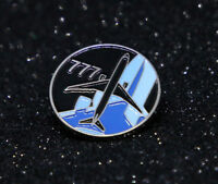Pin BOEING Round Logo BOEING 777 Pin for Pilots metal Black/Blue tie tack B777