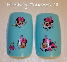 Nail Art Water Transfer-Disney Decal #183 BLE1697 Pink Sticker Minnie Mouse