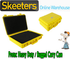 PROTEC RUGGED CARRY CASE 515x415x158mm - YELLOW