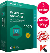 Kaspersky ANTI-VIRUS Security 2020 3 Device/ 1 Year / GLOBAL KEY / PC - WINDOWS