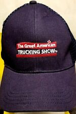 The Great American Trucker Show Hat Cap Mesh Strap Back