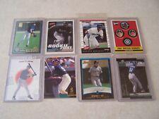 8 different Ichiro Suzuki 2001 rookie cards/2001 Topps/Upper Deck/Donruss Rookie