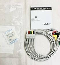 Nuevo Genuino Mindray 5 de plomo ECG Cable EL6502A