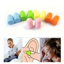 50 Pairs Protector Earplug Sleep Noise Reducer Soft Foam  Ear Plug US Seller