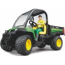 Bruder John Deere Gator XUV 855D mit Fahrer 2490 grün
