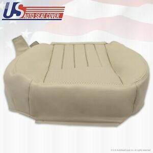 2003 2004 Lincoln Navigator Luxury Driver Side Bottom Leather Seat Cover TAN
