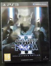 STAR WARS IL POTERE DELLA FORZA II 2 COLLECTOR EDITION NUOVO VERS. ITALIANA PS3