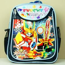 New Japanese Robots Film Armor Hero XT Backpack School Travelling Gym Lunch Bag