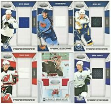 LOT OF (6) 2010/11 CERTIFIED FABRICS OF THE GAME JERSEYS DOUGHTY-ZAJAC-ROY /xxx