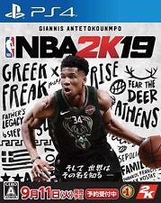 NEW PS4 NBA 2K19 JAPAN Sony PlayStation 4 import Japanese game Basketball