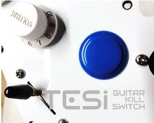 Tesi DITO Snap-in 24MM Guitar Arcade Button Kill Switch Solid Blue