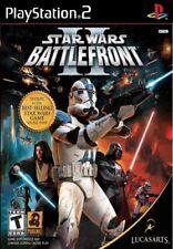 Star Wars: Battlefront II (Sony PlayStation 2, 2005) ps2  Battle Front Starwars