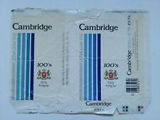 opened empty cigarette soft packs-100 mm-USA-Cambridge