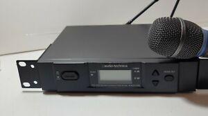 Audio-Technica ATW-R3100b ATW-T371b  Receiver w/ Transmitter no power cord