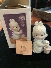 New ListingPrecious Moments-It Is No Secret What God Can Do - 1994 Easter Seal