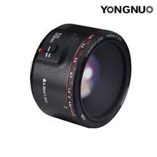 Yongnuo YN 50mm F/1.8 II Prime Lens Auto Focus AF MF for Canon EF 70D 5D2 1300D