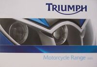 2005 Triumph Motorcycle Full Line Brochure, Original 16 pgs
