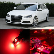 11pcs Red Interior LED Light Package Kit for Audi A4 S4 B8 2009-2012
