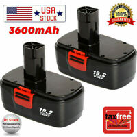 2Pack 19.2V Craftsman Battery Replacement for 19.2 Volt C3 11376 11375 130279005