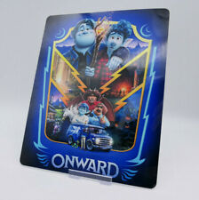ONWARD - Glossy Steelbook Magnetic Cover / Postcard (NOT LENTICULAR)