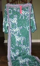 Lilly Pulitzer Emerald Isle ON THE PROWL SILVA MAXI DRESS Ankle Length 0 10 NWT