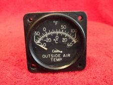 GARWIN OUTSIDE AIR TEMPERATURE INDICATOR P/N 22-295-01 CESSNA LOGO