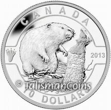 Canada 2013 Oh! Canada Series #2 - Beaver $10 Pure Silver Proof