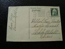ALLEMGNE (baviere) - carte entier 1913 (cy12) germany