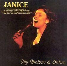 JANICE-My Brothers and Sisters -LIKE NEW-CD VERY RARE CAROLINA BEACH MUSIC,