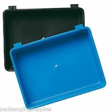 Shakespeare Plastic Fishing Seat Box Side Tray in  Black