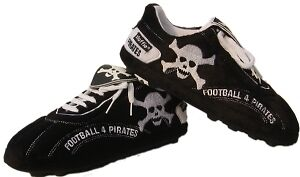 Sloffie Soccer Slippers PIRATE Sz Small