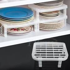 Assembled Semi Transparent Under Sink Dish Drying Rack Organizer Storage Kitchen