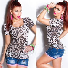 * Womens Tops Short Sleeve Blouses Casual Everyday Wear Size 8 10 12 14 S M L XL