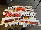 "Illinois Fighting Illini Coors Light Metal Tin Beer Sign 36""x24"" (7092)"