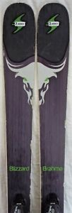 16-17 Blizzard Brahma Used Men's Demo Skis w/Bindings Size 173cm #346863