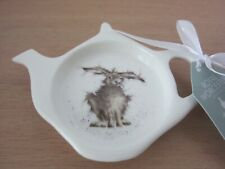 Royal Worcester Wrendale Designs HARE BRAINED  Teabag Tidy - NEW WITH LABEL