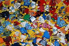 LEGO 20 x COMPLETE MINIFIGURE TORSOS RANDOMLY COLOURS CITY-FRIENDS-MOVIE-ELVES
