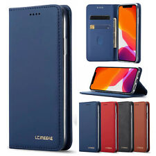 Premium Slim Leather Case Flip Wallet Cover For iPhone 12 Mini 7 8 XS 11 Pro Max