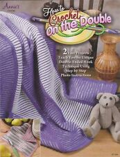 NEW HOW TO CROCHET ON THE DOUBLE PLUS 2 EASY PROJECTS