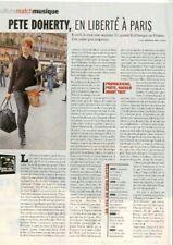 Coupure de presse Clipping 2007 Pete Doherty (1 page)