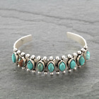 """*NWT* Natural Turquoise """"C"""" Cuff Bracelet 710856089"""