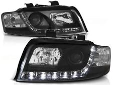 LED HEADLIGHTS LPAU32 AUDI A4 SALOON ESTATE 2000 2001 2002 2003 2004 BLACK