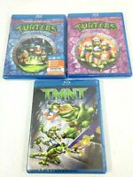 TMNT Animated Blu-Ray & Teenage Mutant Ninja Turtles Movies II & III Lot Sealed