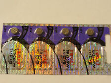 Fast return -4-New-Maxell-Watch Batteries--377 /LR 626 /Ag4-Fast Ship-EXP2022