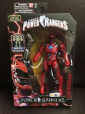 Power Rangers Movie Build A Megazord Limited Edition Exclusive Red Ranger VHTF