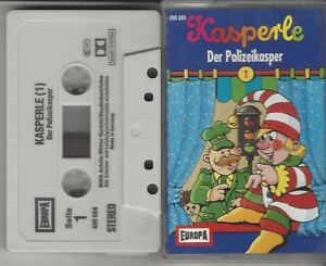 MC KASPERLE - FOLGE 1 - DER POLIZEIKASPER - KASPER KASPERLE KASSETTE VON EUROPA